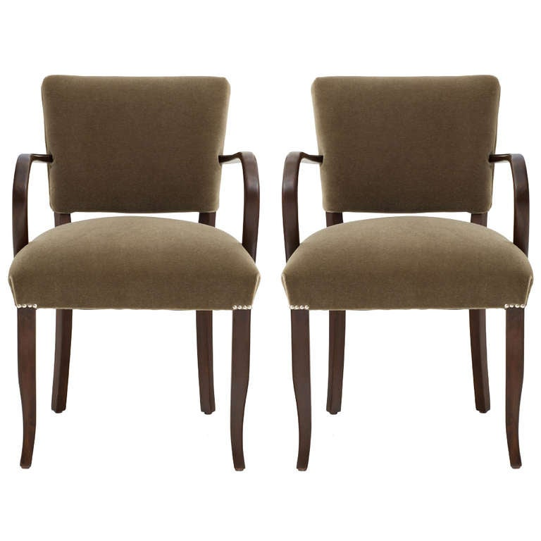 Pair of French 1940's Arm Chairs, SALE at 1stdibs