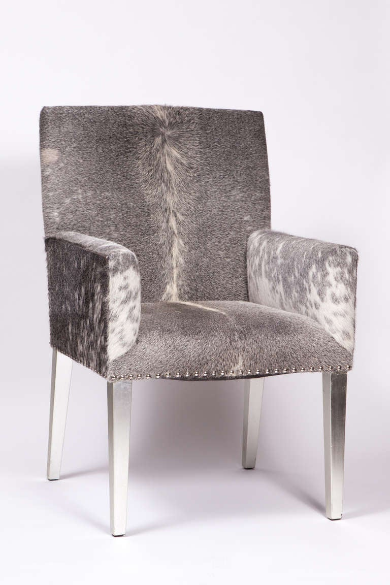 Mid Century Pony Skin Chair 2