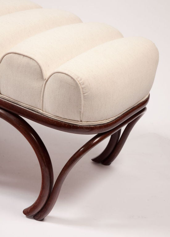 Thonet reclining chaise longue at 1stdibs for Chaise thonet