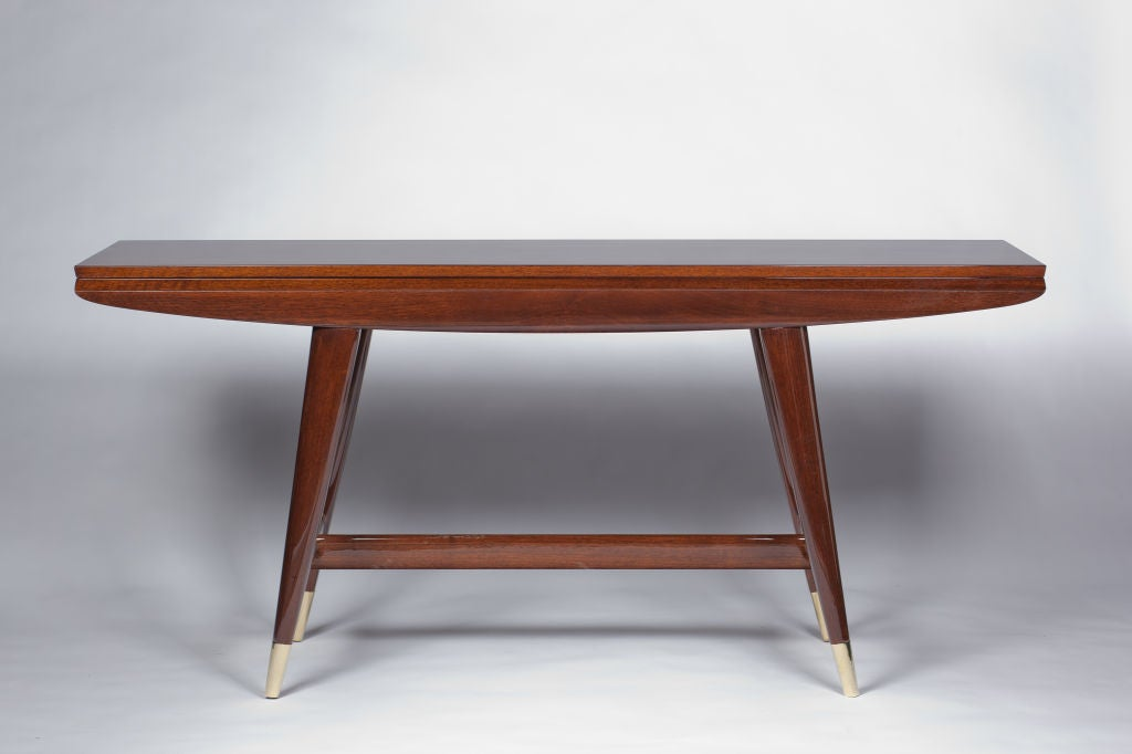 gio ponti convertible console/dining table at 1stdibs