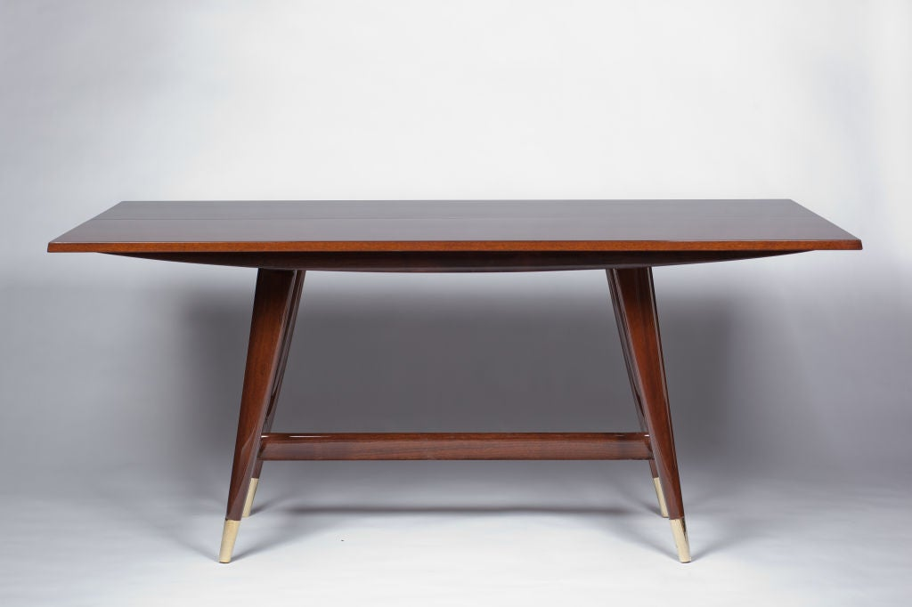 Console Dining Table gio ponti convertible console/dining table at 1stdibs