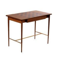 Paul McCobb Mahogany & Rosewood Game Table/Console