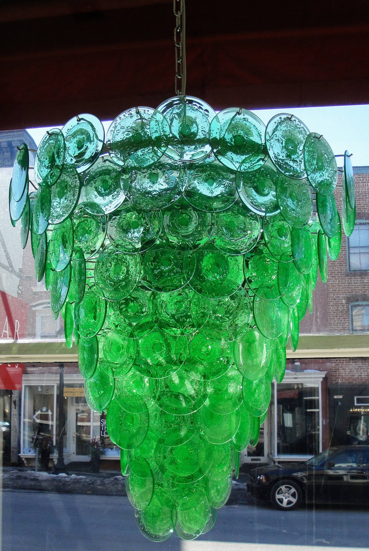 droplets gallery crystals photo chic il glass chandelier fullxfull drops green listing emerald