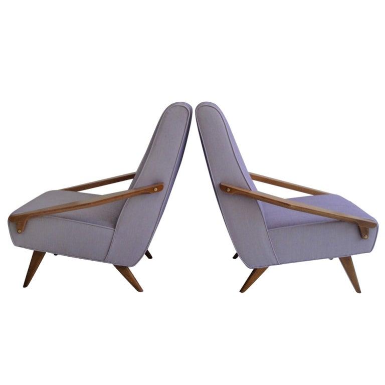 Gio ponti armchairs