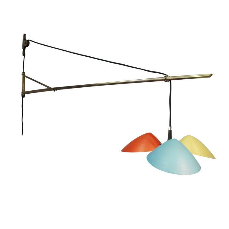 Large Arredoluce Wall Lamp
