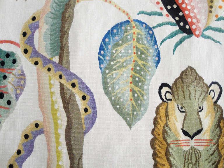 Jambala Wool Tapestry by Kazumi Yoshida 4
