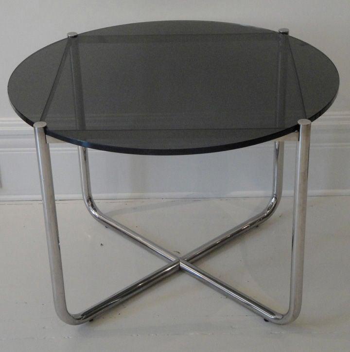 Vintage Mies Van Der Rohe Coffee Table At 1stdibs