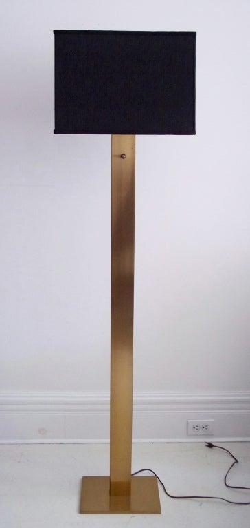 george kovacs brass floor lamp at 1stdibs. Black Bedroom Furniture Sets. Home Design Ideas
