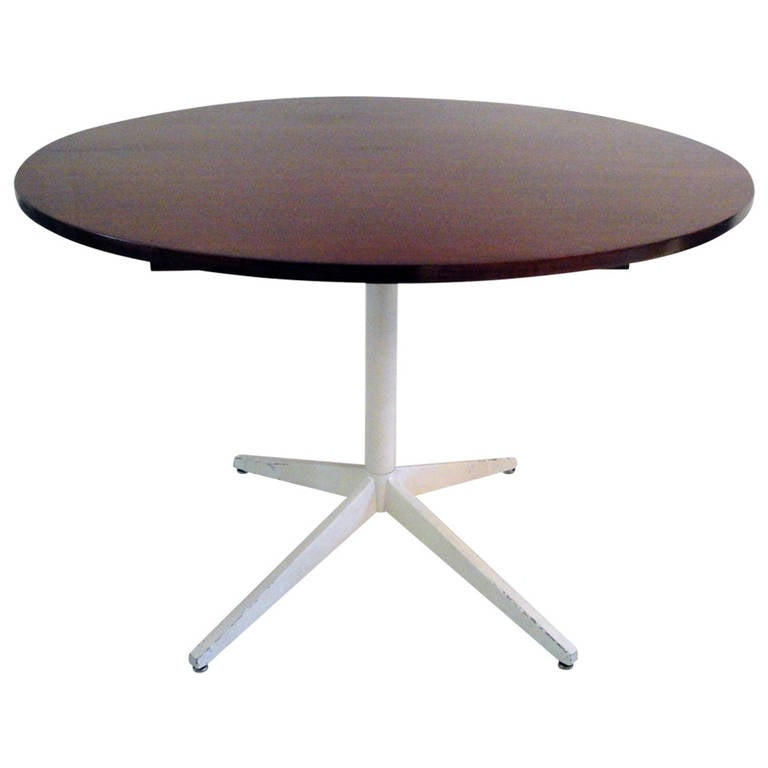 Round Table By George Nelson At 1stdibs