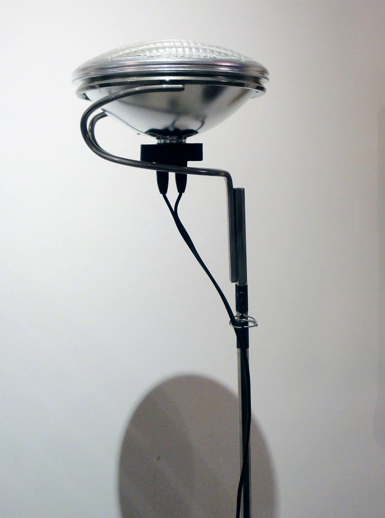 Achille and castiglioni toio floor lamp for sale at 1stdibs for Castiglioni light