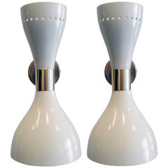 Pair of Arredoluce Style Sconces