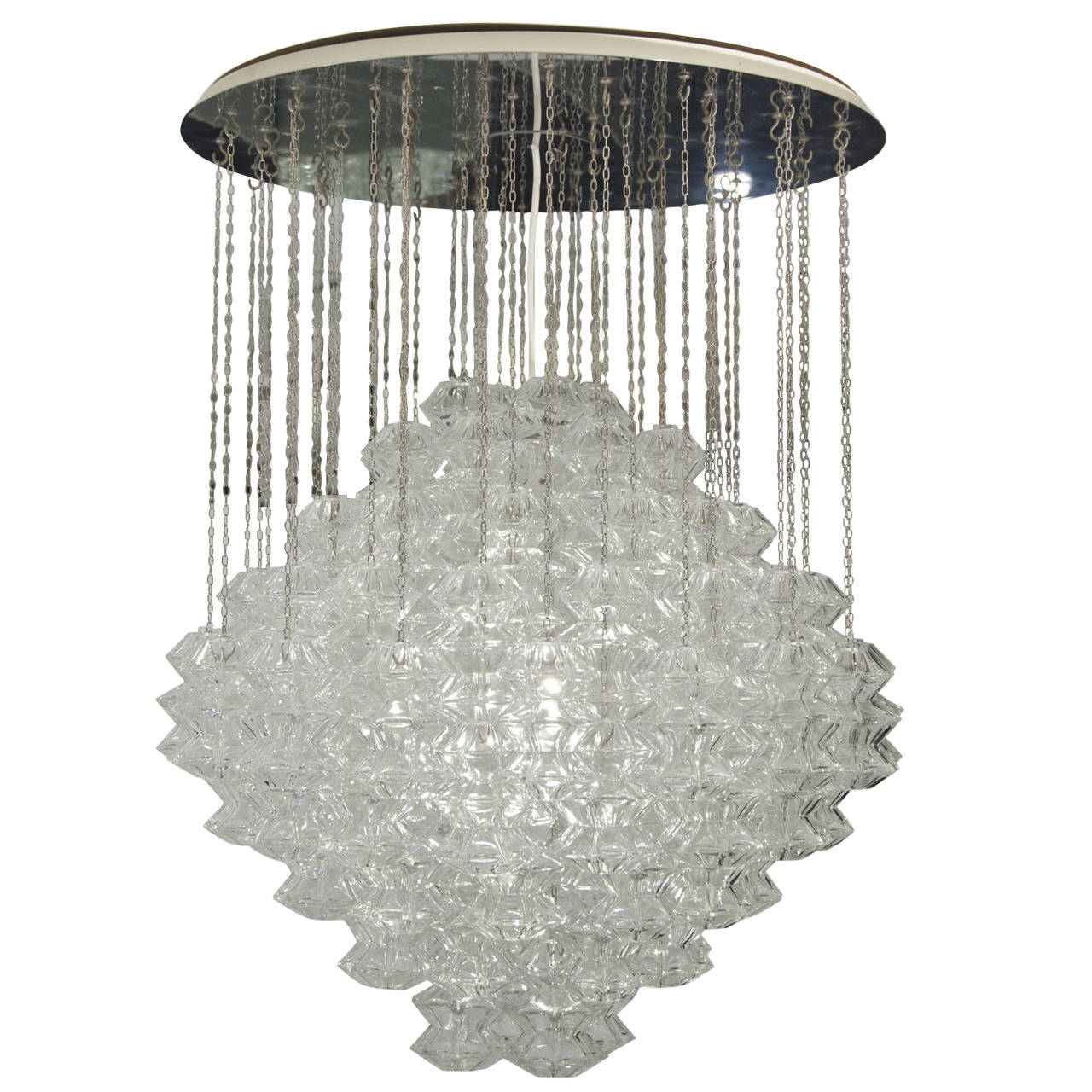 vintage center tagged crystal design crown pagoda chandelier events lighting collections ooh