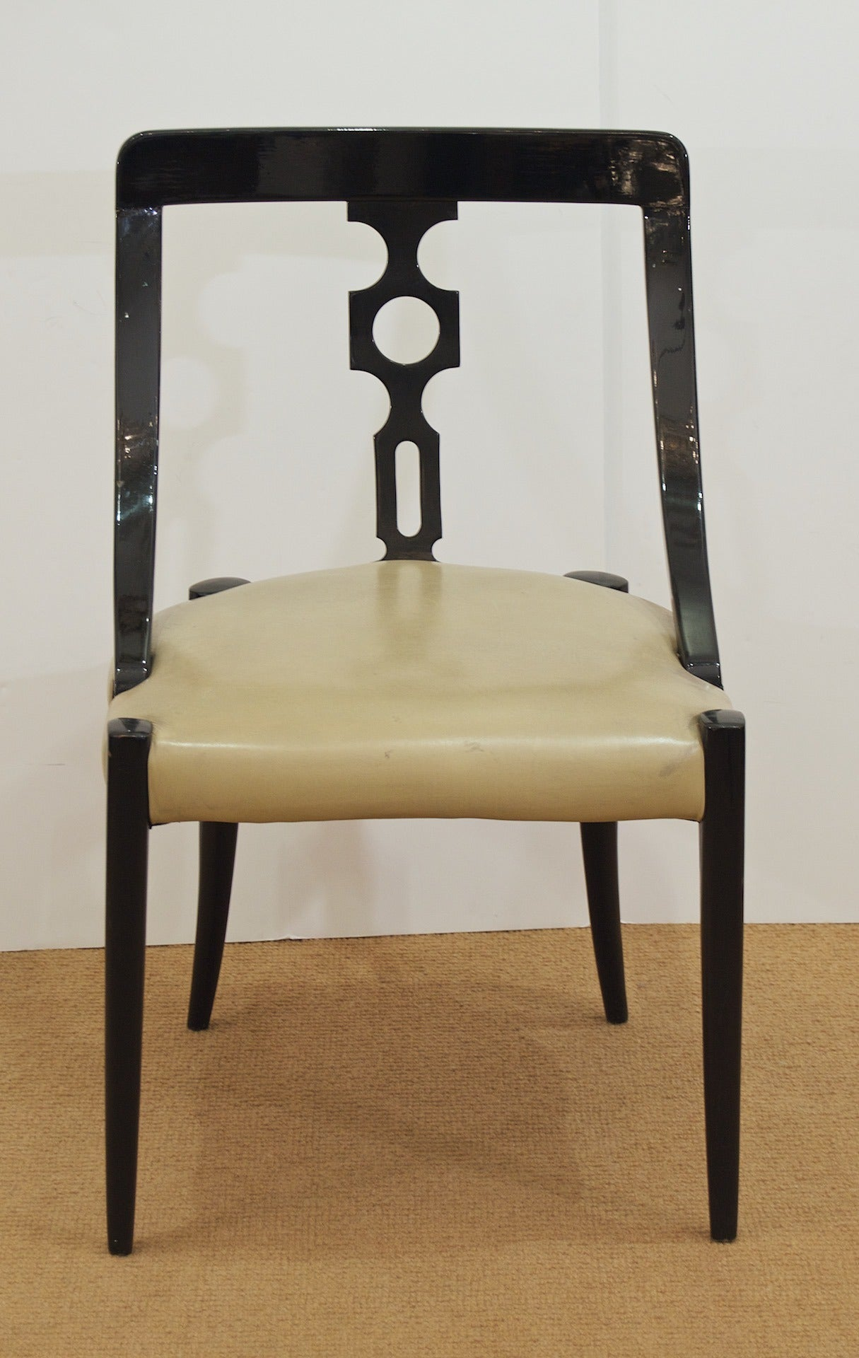 will also black lacquer dining room chairs keep going