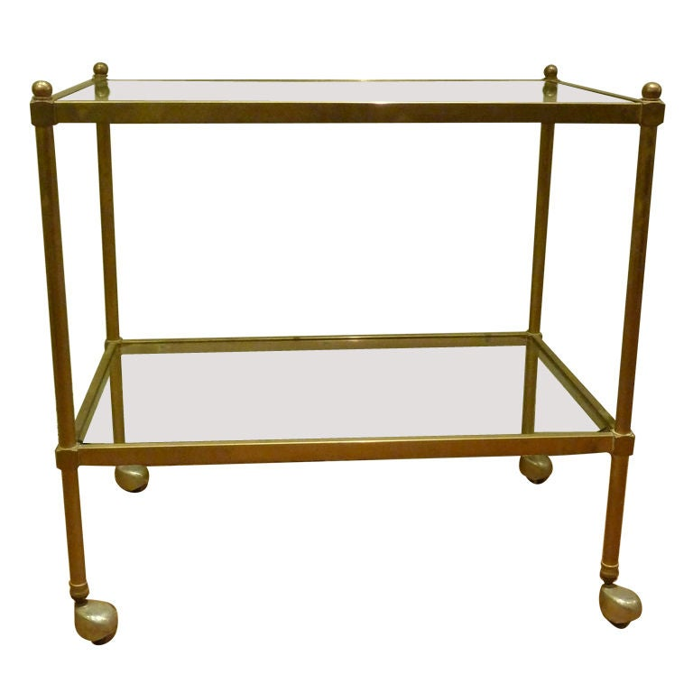 Bronze Bar Cart At 1stdibs