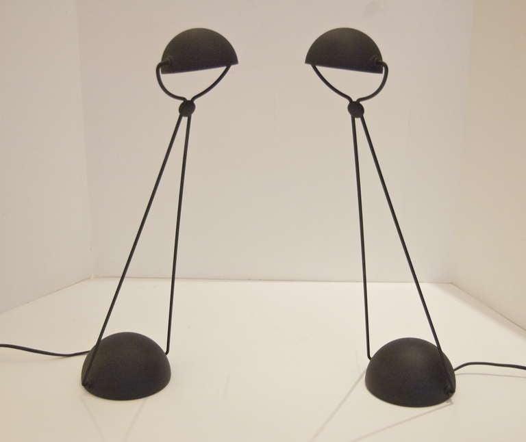 Pair Of Stefano Cevoli Task Desk Lights At 1stdibs