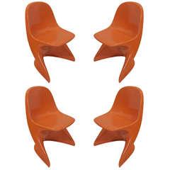 Orange Casalino Children's Chairs (3 avail )