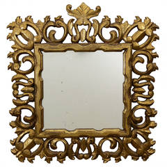 Hollywood Regency Giltwood Mirror