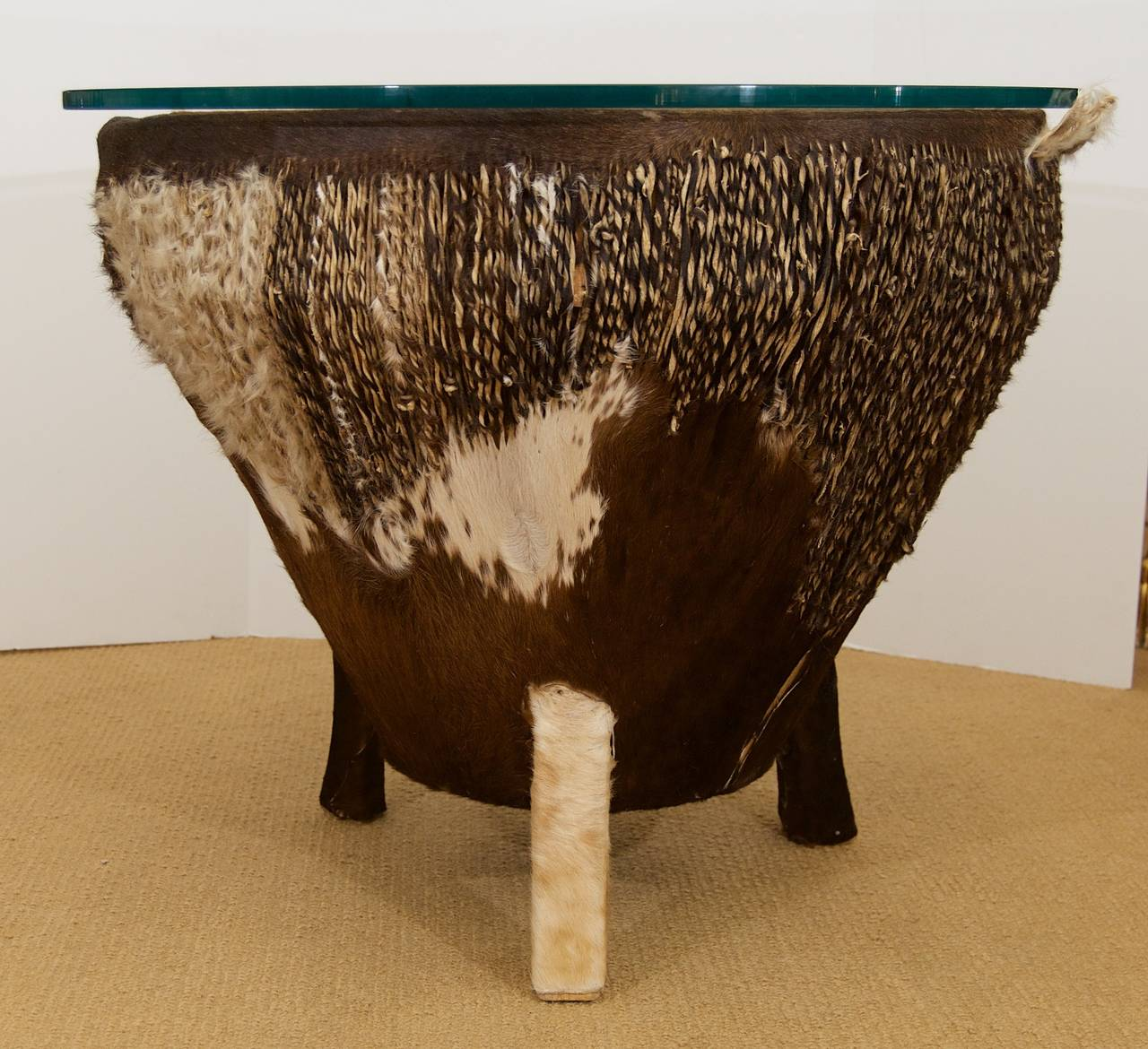 Black Coffee Table South Africa: African Drum Coffee Table For Sale At 1stdibs
