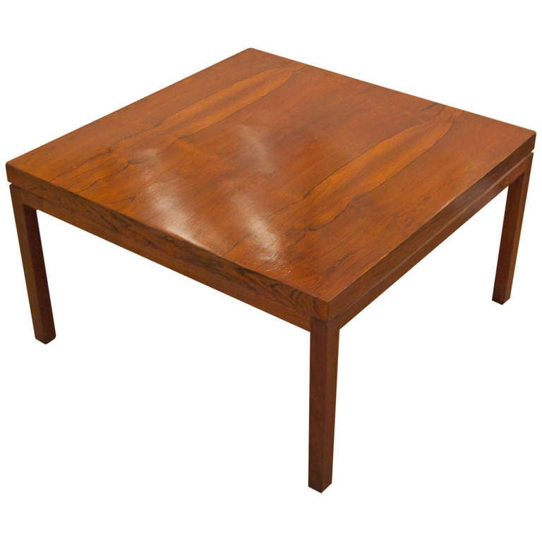 Thayer Coggin Coffee Table in Rosewood