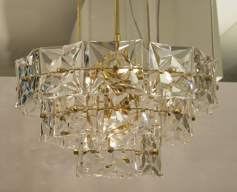 gold plate kinkeldey square crystal chandelier is no longer available