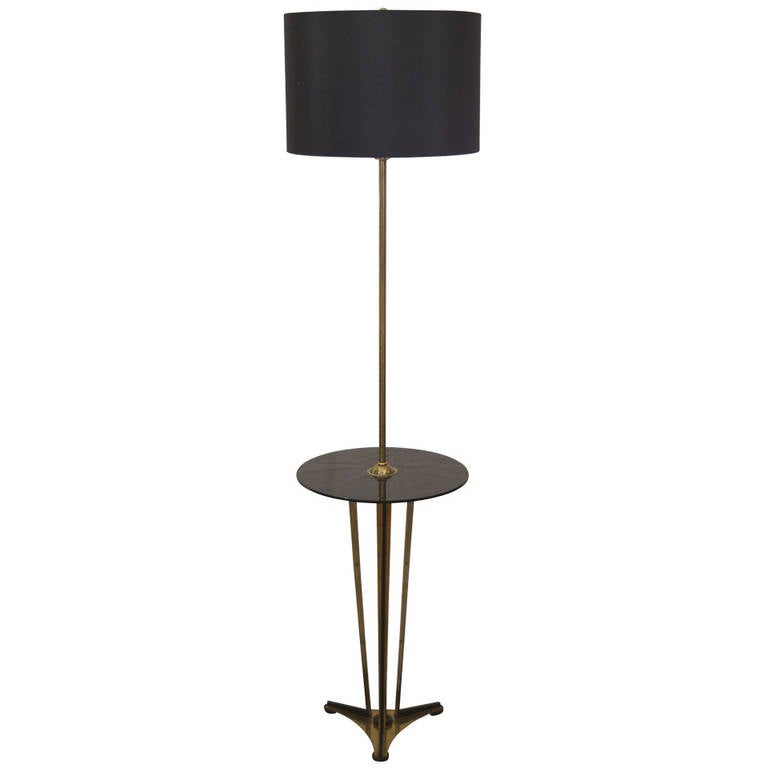 brass and black glass floor lamp with table is no longer available. Black Bedroom Furniture Sets. Home Design Ideas