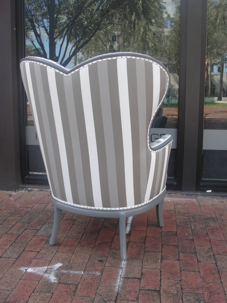 Alice in Wonderland Queen of Hearts Armchair In Excellent Condition For Sale In East Hampton, NY