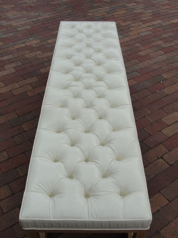 Extra-Long Tufted Bench/Ottoman 3