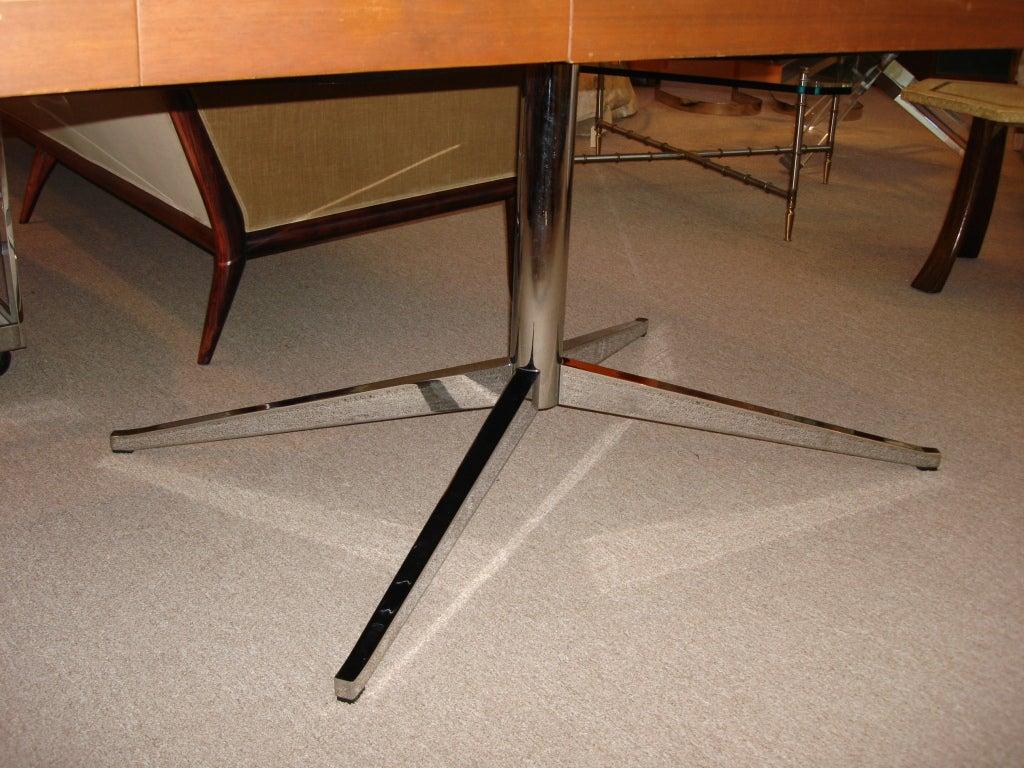 Steel Vintage Florence KNOLL Partners Desk (Original Label) For Sale