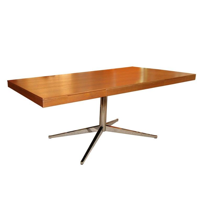 Vintage Florence KNOLL Partners Desk (Original Label) For Sale