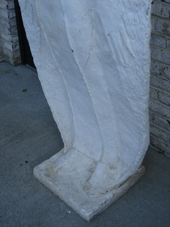 Plaster Exceptional Tall Sculpture by Sir Laszlo Ispanky 'Signed' For Sale