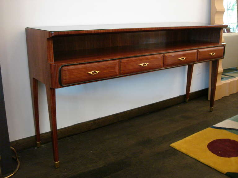 paolo buffa console table or buffet for sale at 1stdibs. Black Bedroom Furniture Sets. Home Design Ideas