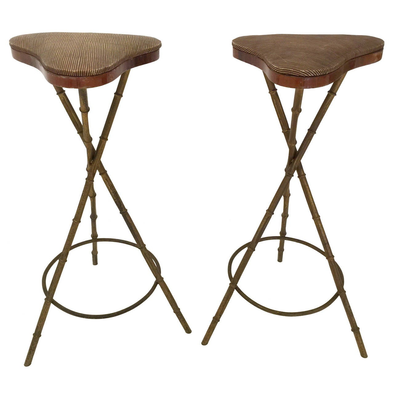 folding target wonderfully stool arms bar stools of with vintage bamboo faux white