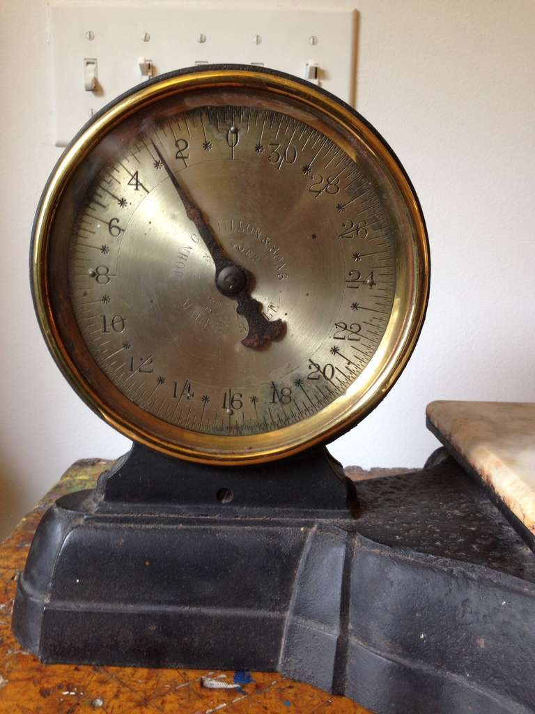 Antique Market Scale By John Chatillon And Sons At 1stdibs