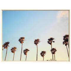 "Oversized Framed Acrylic Photograph, ""California Dreaming"""