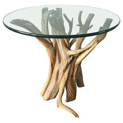 Natural and Organic Driftwood Occasional Table