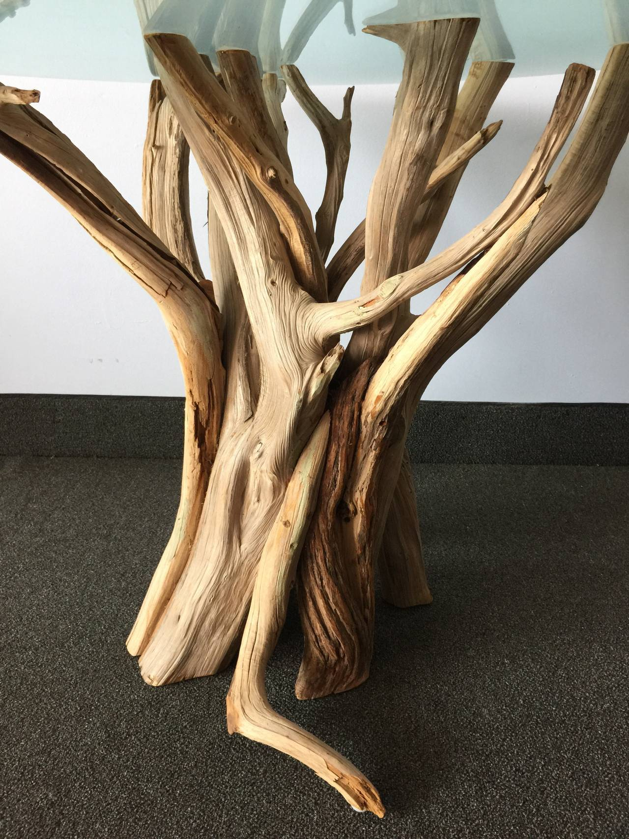 Natural and Organic Driftwood Occasional Table For Sale at