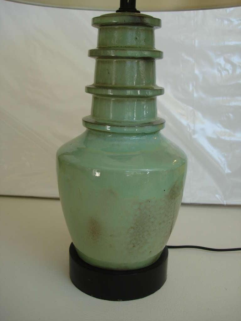 Vintage Ceramic Lamp Hairy Pussy