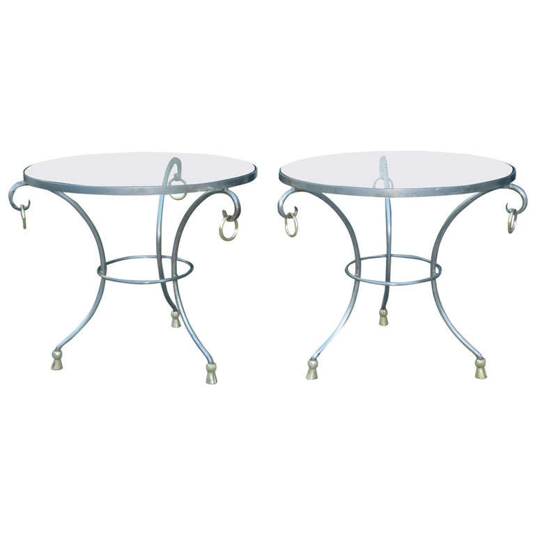 Maison Jansen French Gueridon Side Tables For Sale