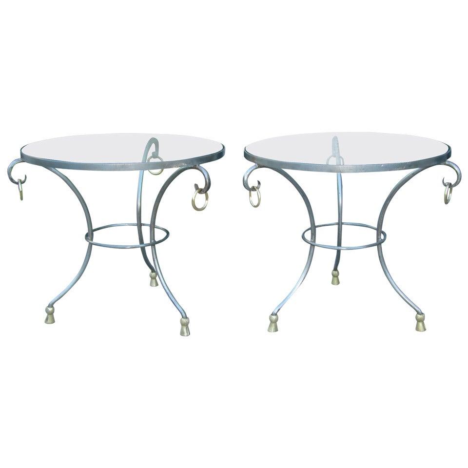 Maison Jansen French Gueridon Side Tables