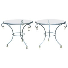 Maison Jansen French Gueridon Side Tables