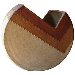 A Modernist Earthenware Pottery Vase