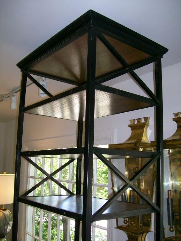 American Iron & Wood Ètagerè For Sale