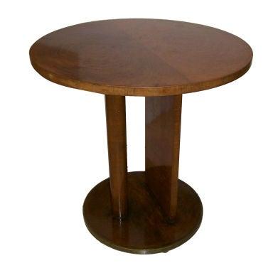 Italian Deco Side Table At 1stdibs