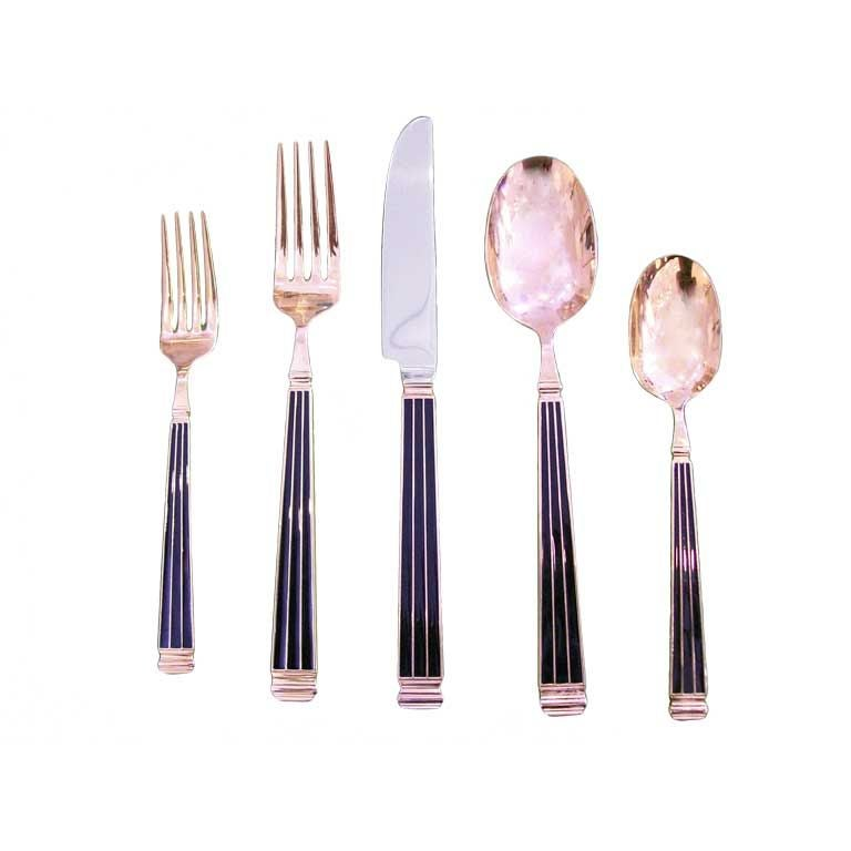 A Rare Christian Dior Cutlery Set Each Signed At 1stdibs