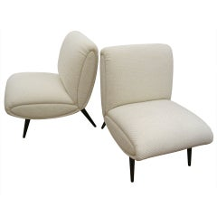 Italian  Slipper Chairs