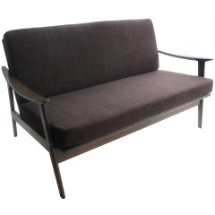 1960's  Danish Loveseat