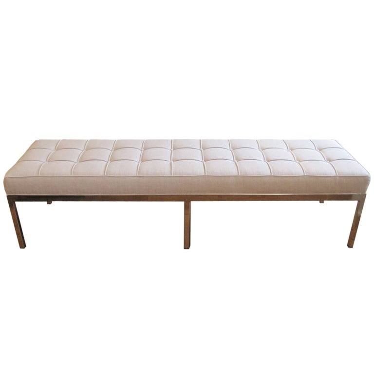 1960 39 S Bench In The Style Of Florence Knoll At 1stdibs