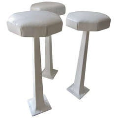 Three  Counter / Bar Stools