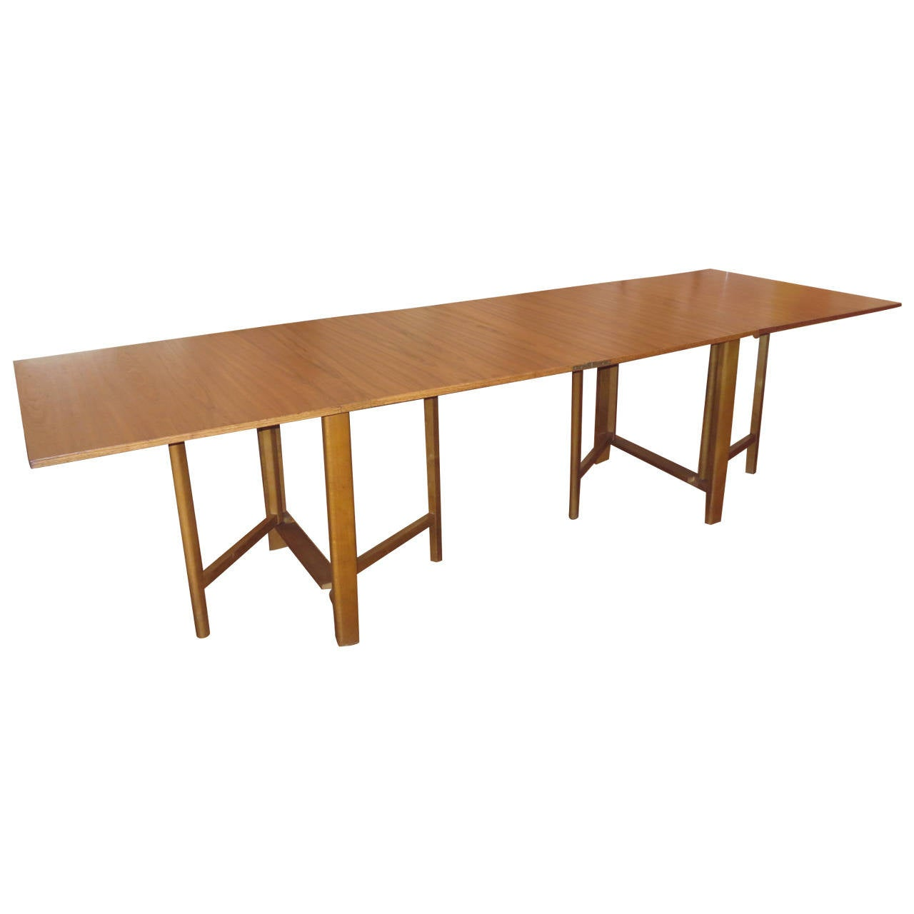 Bruno Mathsson quotMariaquot Dining Table at 1stdibs : 2166062l from www.1stdibs.com size 1280 x 1280 jpeg 47kB