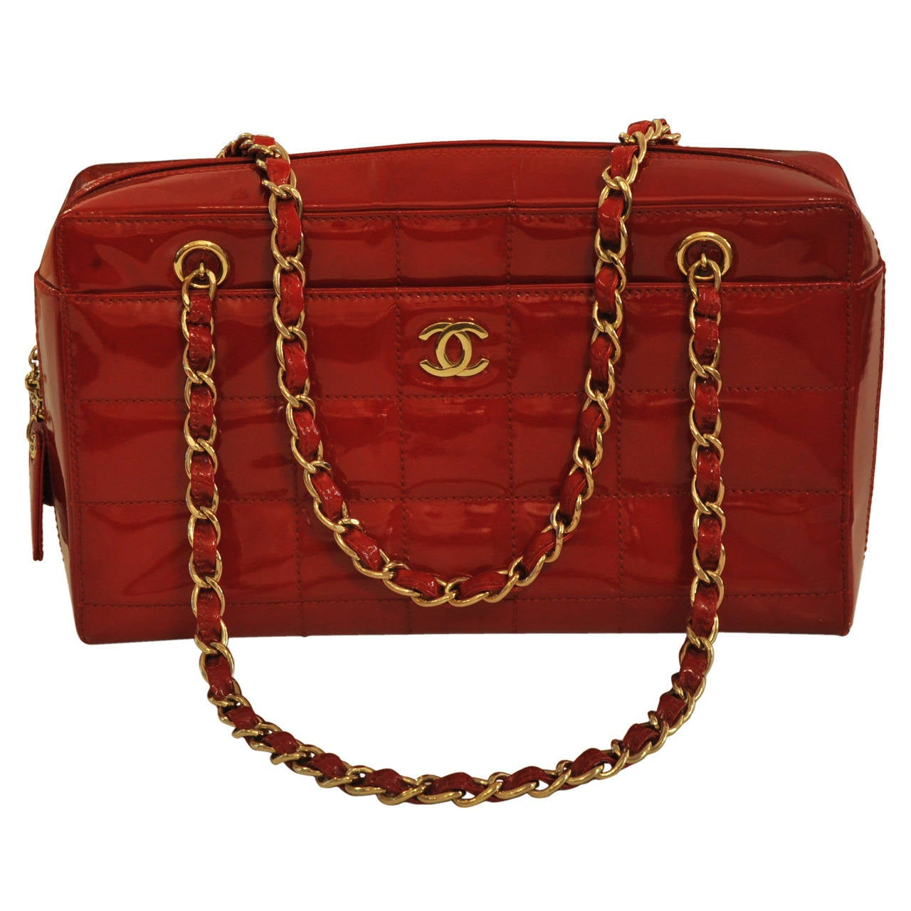 57097a2cc0ea Chanel Red Patent Leather Bag | Stanford Center for Opportunity ...